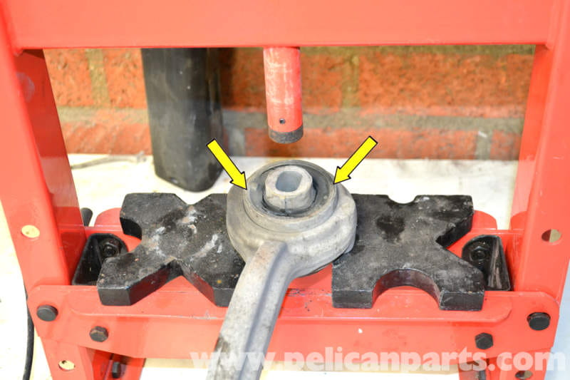 replace front thrust rod bushings are cracked