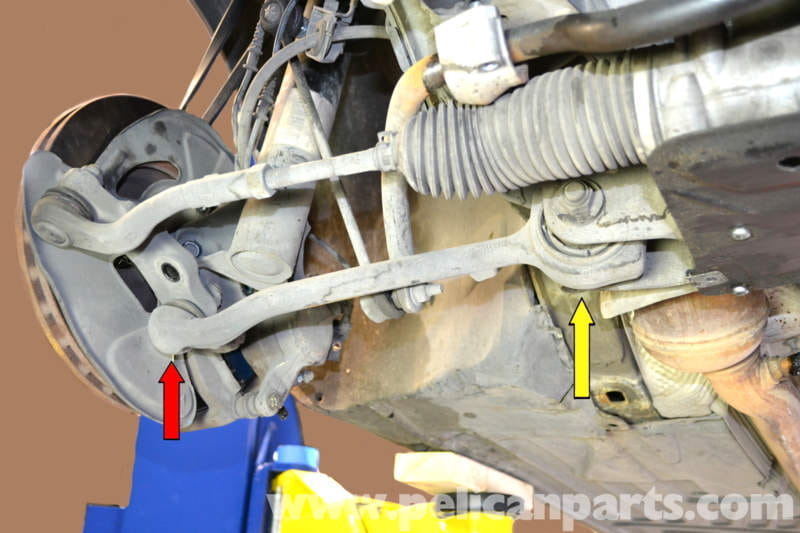 Mercedes Benz W203 Front Control Arm Replacement 2001