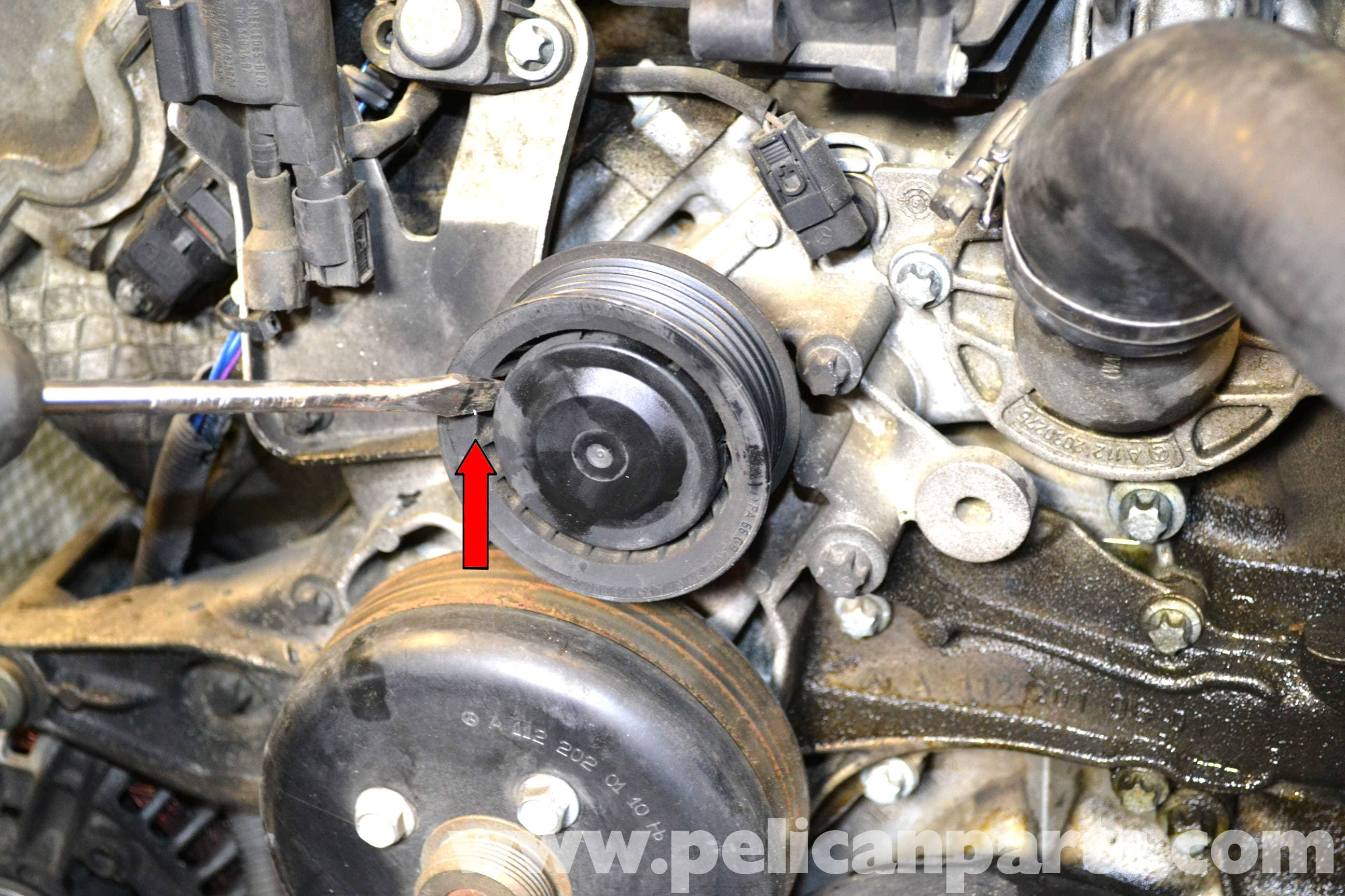 Mercedes-Benz W203 Water Pump Replacement - (2001-2007 ...