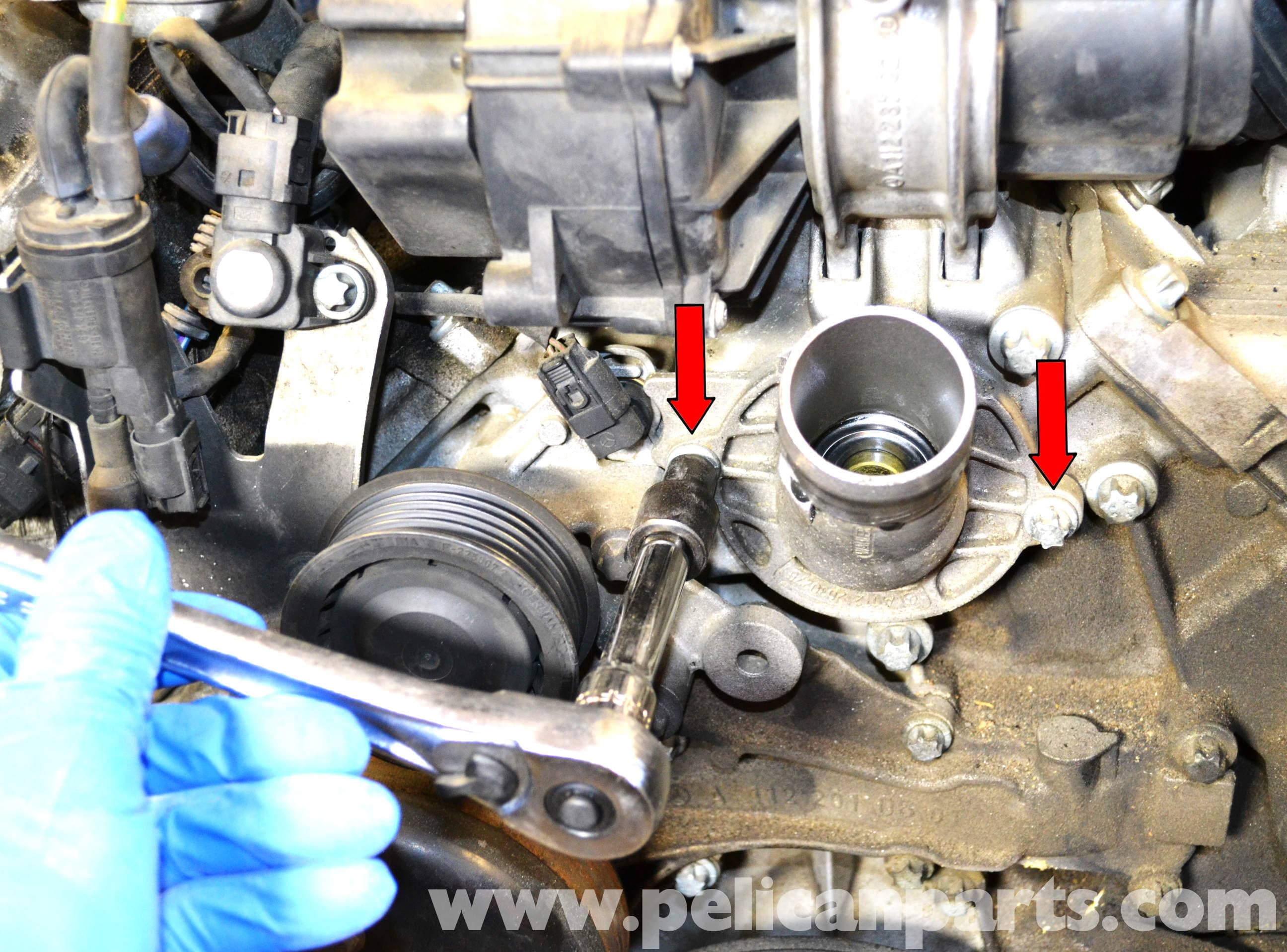 Mercedes-benz W203 Thermostat Replacement