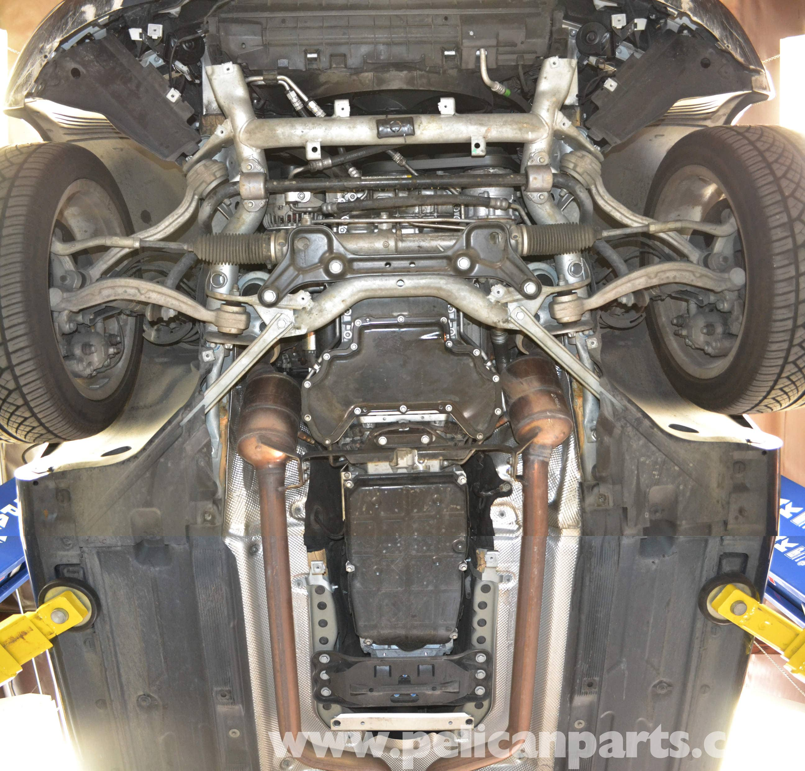 Please Help Looking For A Transmission Removal Diy: Mercedes-Benz W204 Underbody Tray Removal