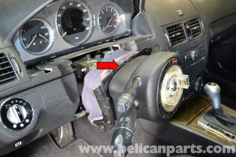 Mercedes Benz W204 Electronic Steering Lock Replacement