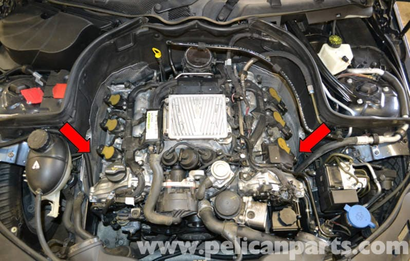 Mercedes Benz W204 Engine Mount Replacement 2008 2014