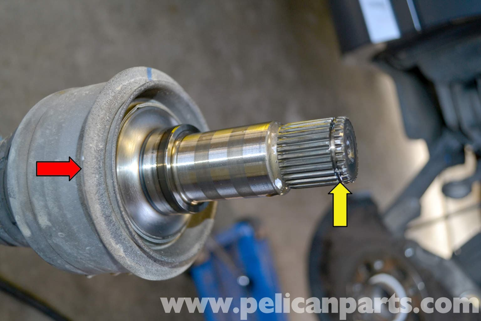 Mercedes Benz W204 Axle Replacement 2008 2014 C250