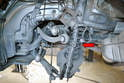 The camber strut, torque strut, tie rod and thrust arm can now be easily remove from the sub-frame and replaced.