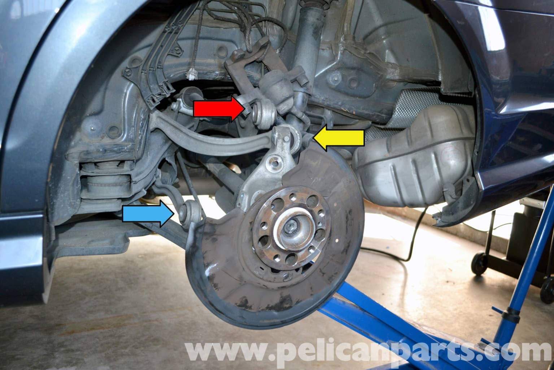 mercedes benz  rear bearing replacement      pelican parts diy