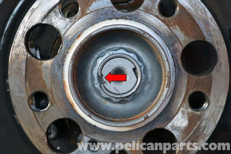 Best Brake Pads >> Mercedes-Benz W204 Rear Bearing Replacement - (2008-2014 ...