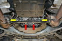 Depending how your car is equipped will determine what you need to move to drain the torque convertor.