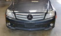 The iconic Mercedes star is part of a single piece front grille and can be replaced simply and easily.