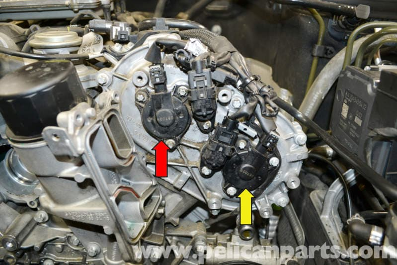 Mercedes Benz W204 Camshaft Magnetic Adjuster Replacement