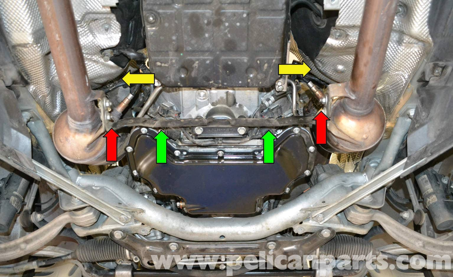 Mercedes Benz W204 Oxygen Sensor Replacement 2008 2014