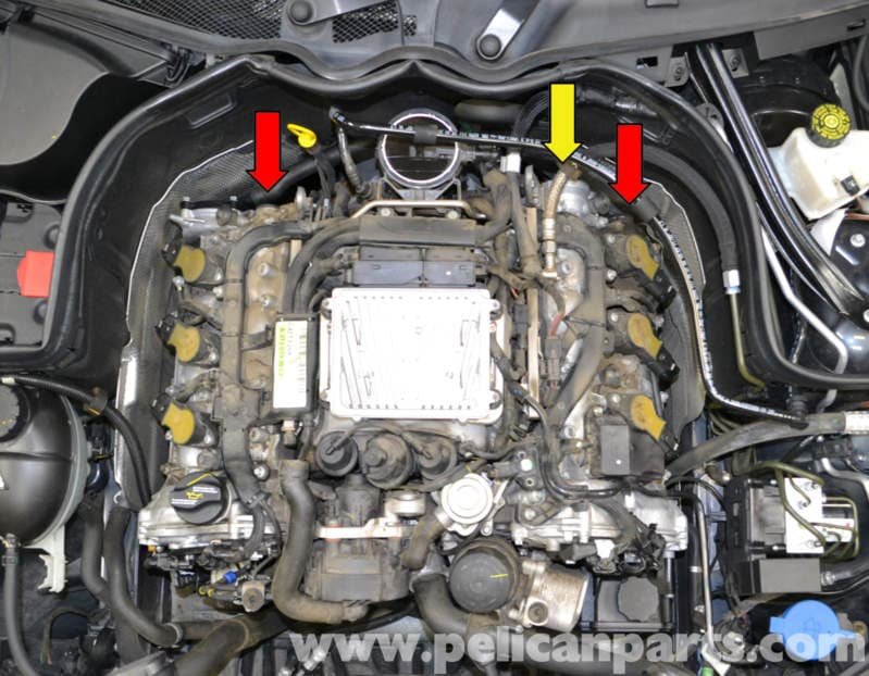 Mercedes Benz W204 Cam Bore Expansion Plugs Replacement