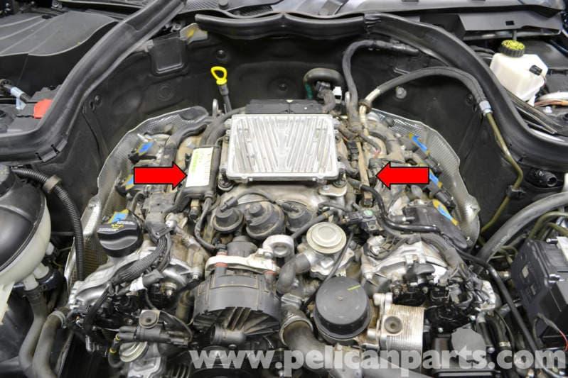 Mercedes-benz W204 Intake Manifold Replacement
