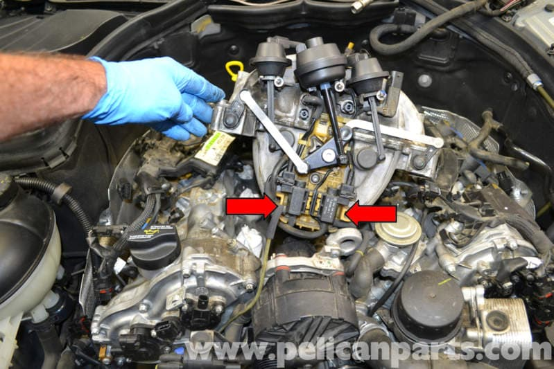 Mercedes Benz W204 Egr Change Over Valve Replacement