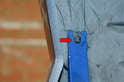 Front- The push/pull pins can get brittle over time.