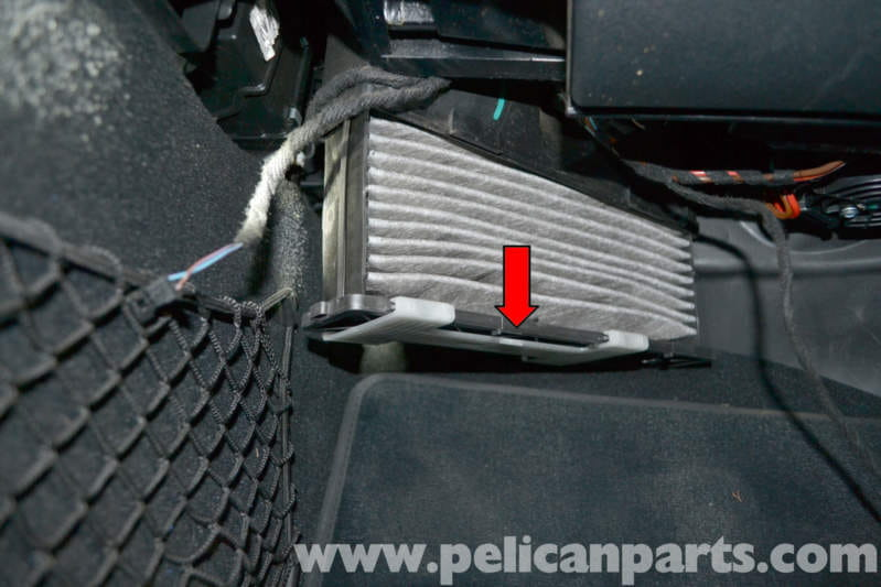 Mercedes Benz W204 Cabin Air Filter Replacement 2008