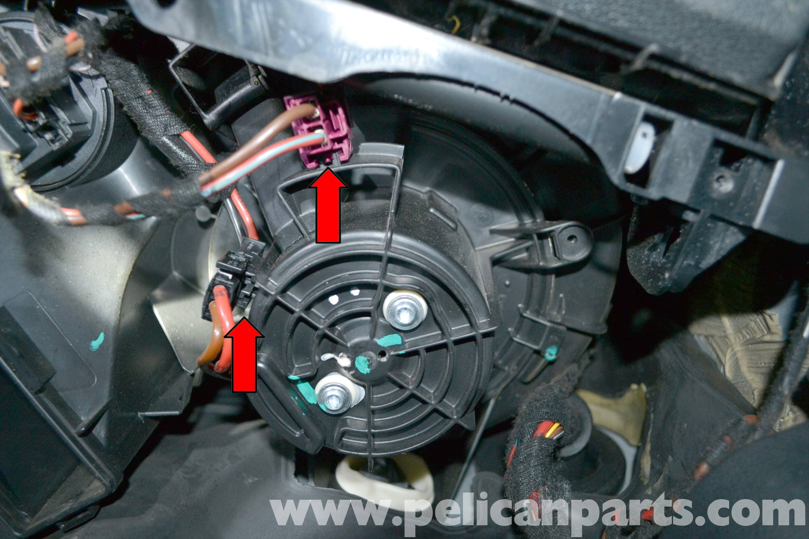 Mercedes Benz W204 Blower Motor Replacement 2008 2014