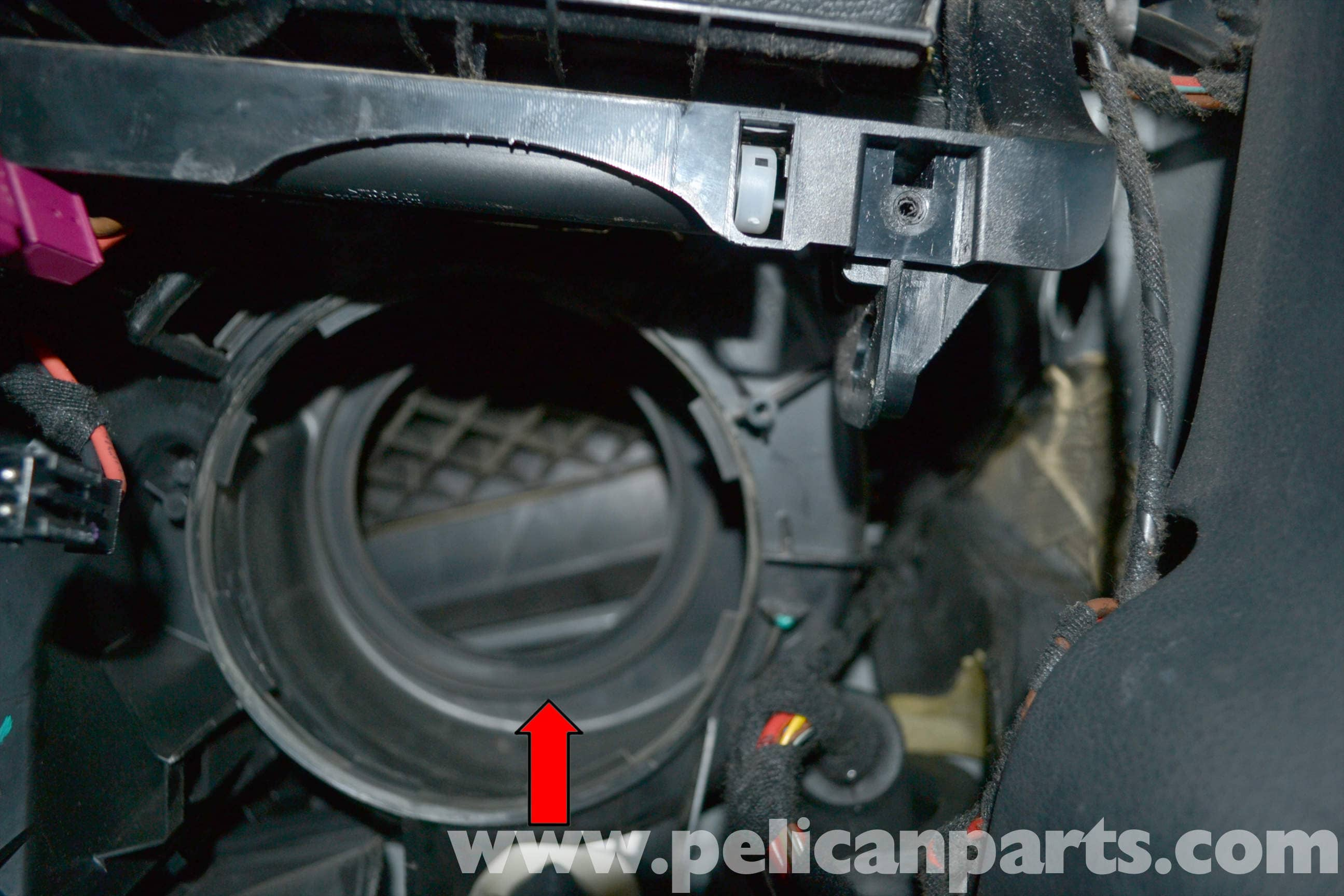 Mercedes-benz W204 Blower Motor Replacement