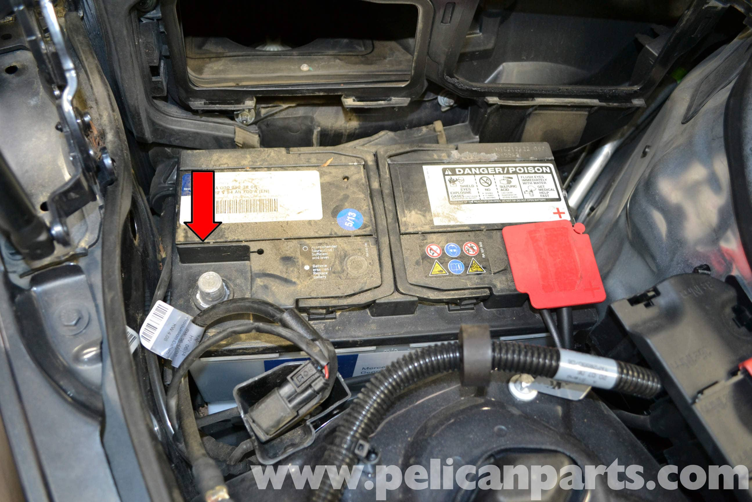 Mercedes Benz W204 Steering Wheel And Airbag Removal