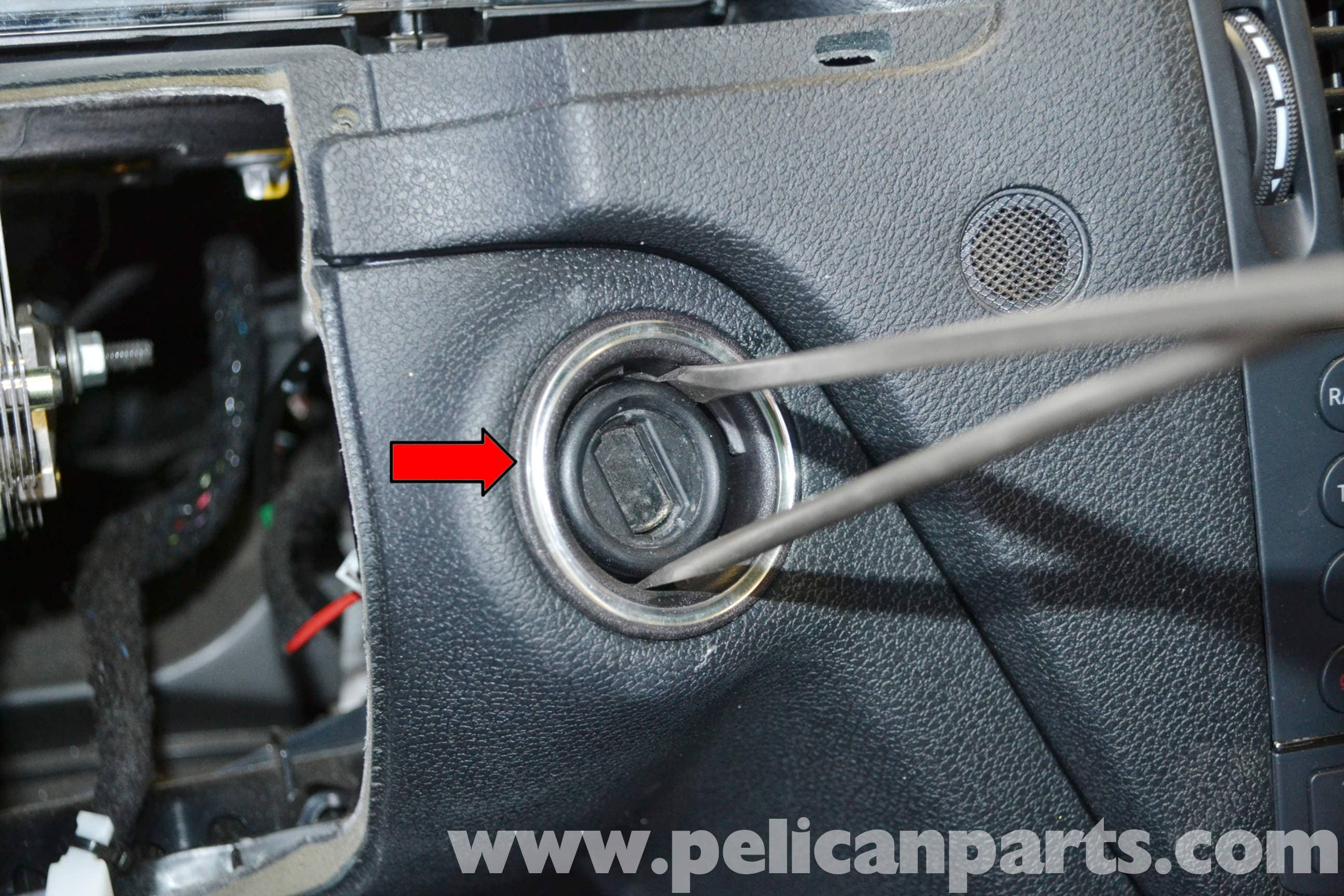 Mercedes Benz W204 Ignition Switch Replacement 2008