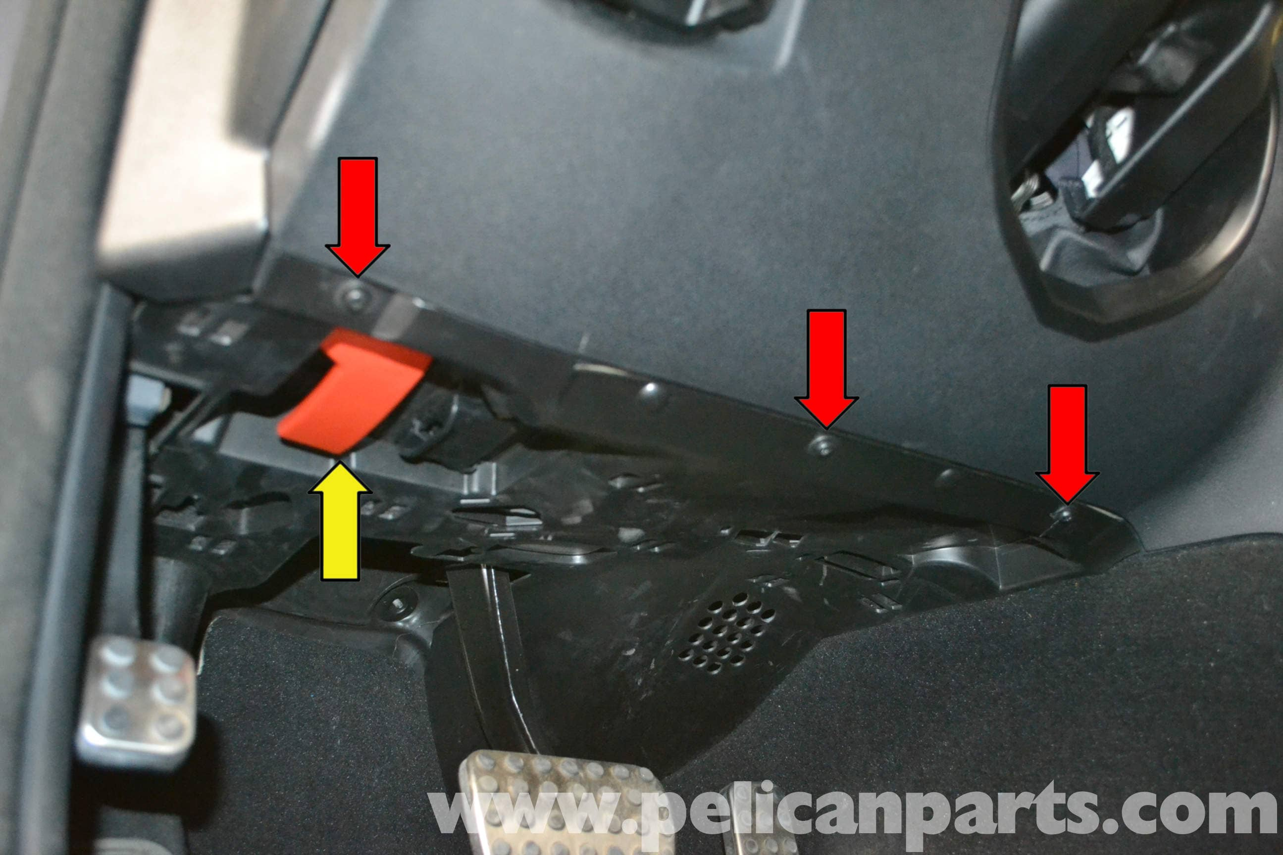 Mercedes-benz W204 Brake Light Switch Replacement