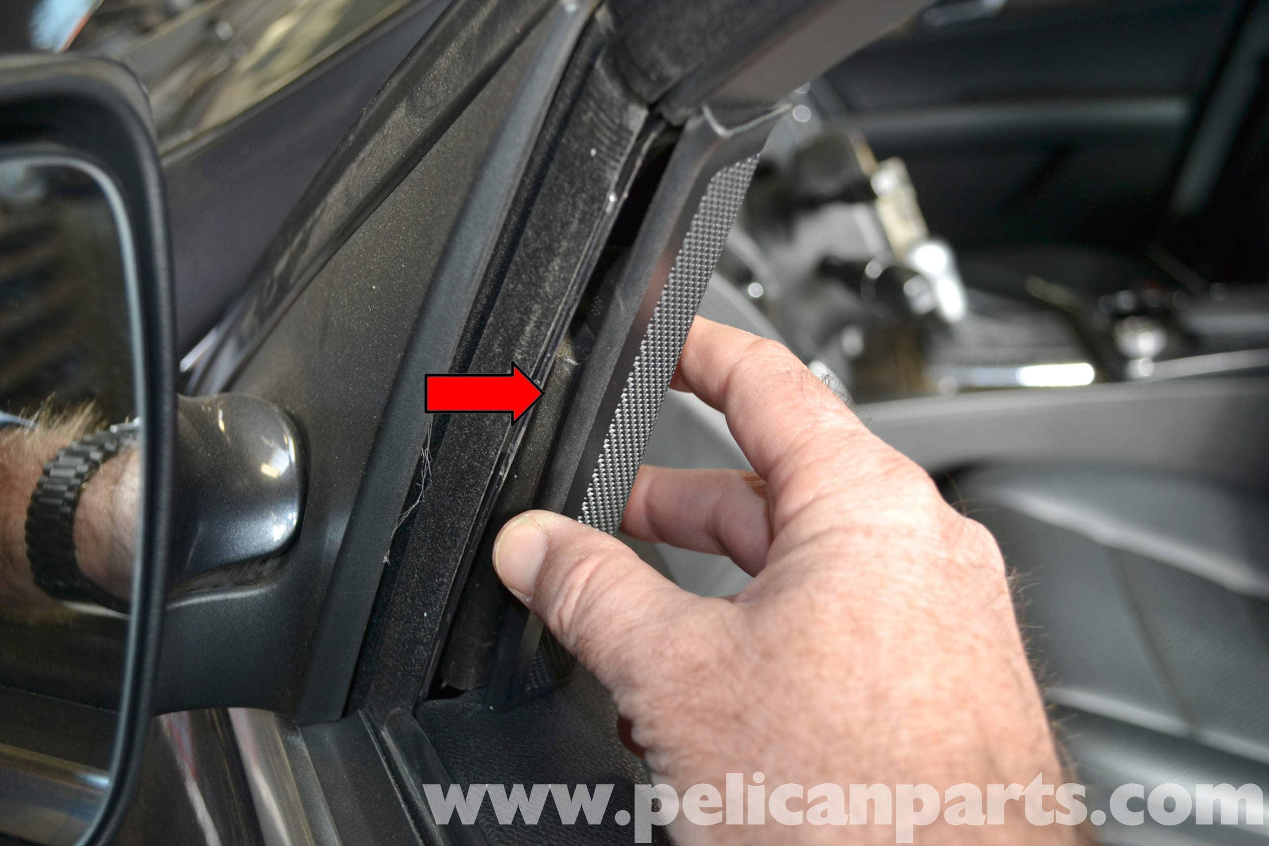 Mercedes Benz W204 Front Door Panel Removal 2008 2014