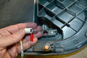 To remove the bulb housing turn it counter-clockwise and lift it out.