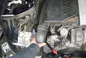 Remove the right side engine snorkel by pulling it straight off of the air intake tube.