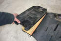 Lift the air filter housing covers all off of the air filter housing.
