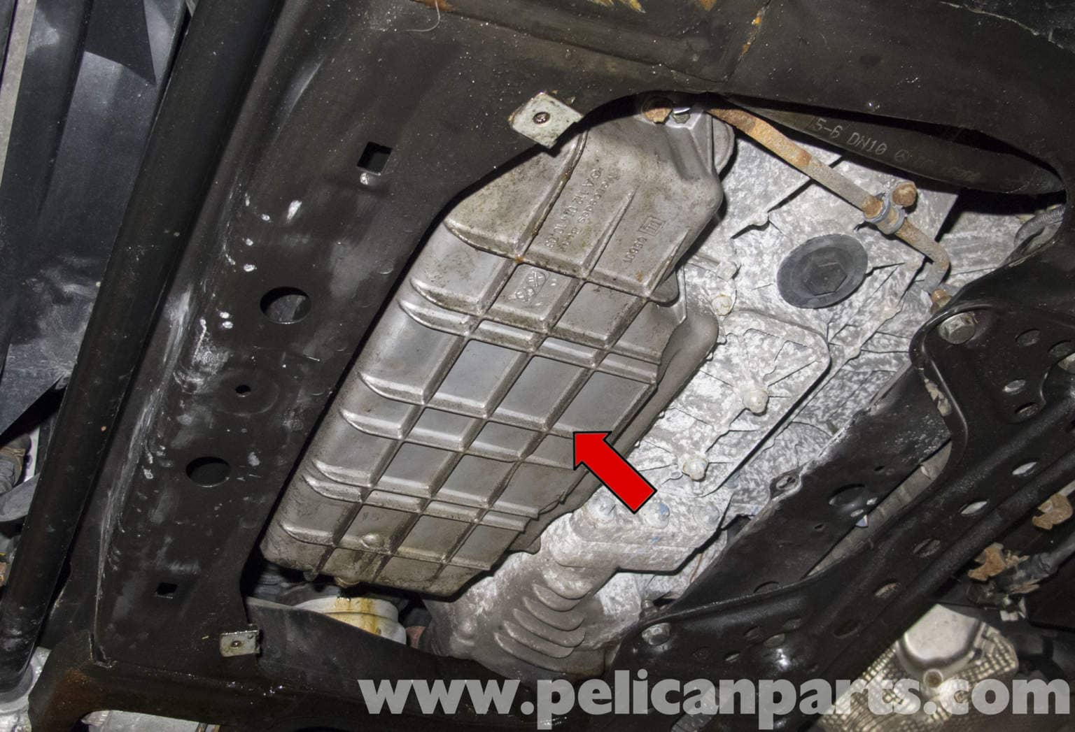 Mercedes Benz W211 Oil Pan Gasket Replacement 2003 2009 E320 Pelican Parts Diy Maintenance