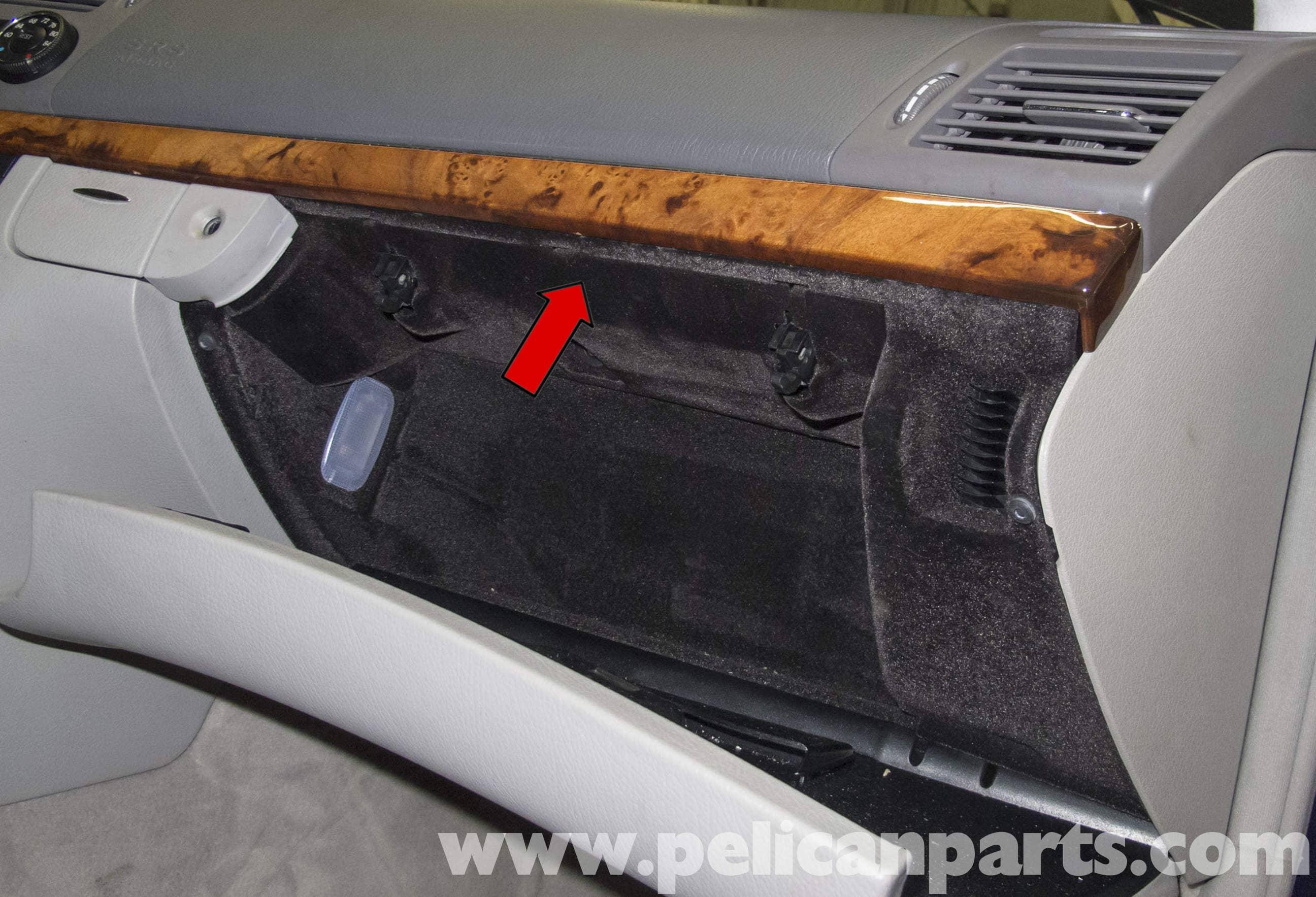 Mercedes benz w211 glove box latch lock cylinder for Mercedes benz gloves