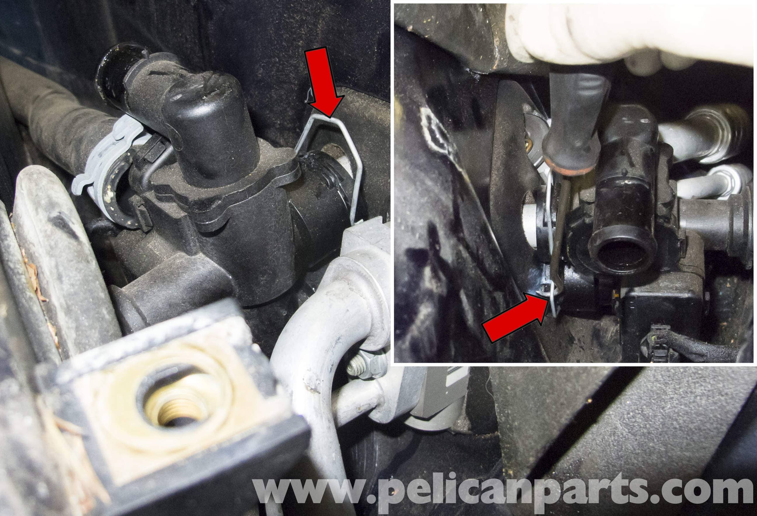 Mercedes Benz W211 Heater Valve Replacement 2003 2009