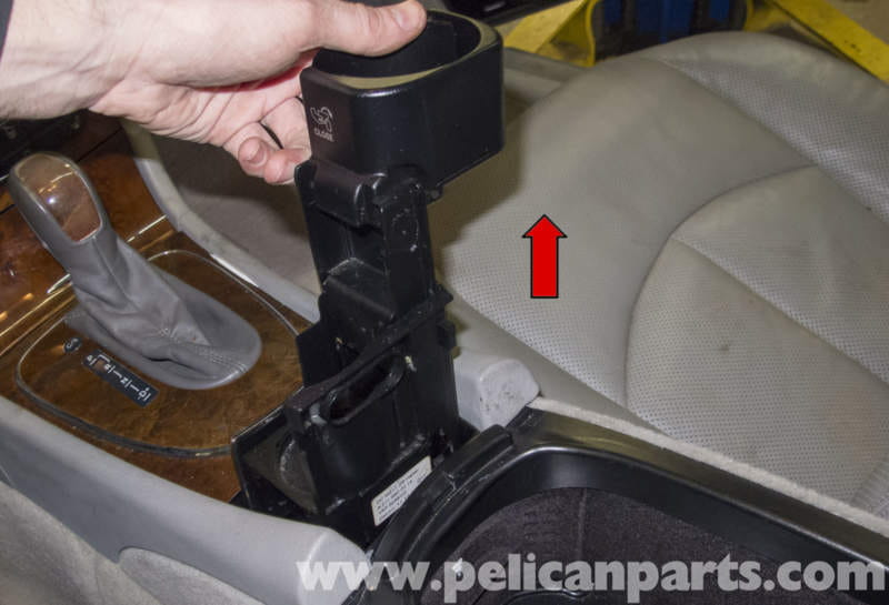 Mercedes benz w211 center console replacement 2003 2009 for Mercedes benz cup holder replacement