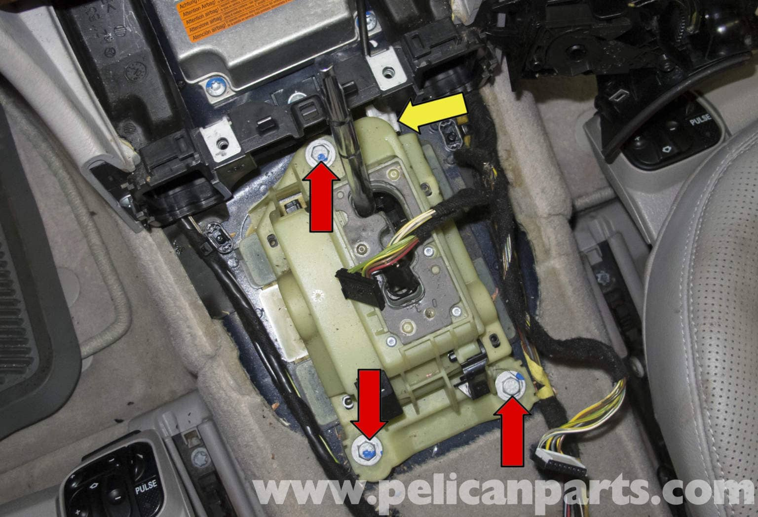 Mercedes Benz W211 Transmission Shift Module Replacement