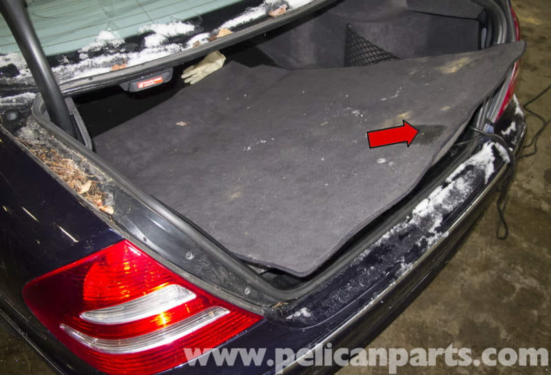 Mercedes Benz W211 Rear Bumper Replacement 2003 2009