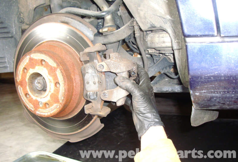 Mercedes benz w211 brake pad replacement 2003 2009 e320 for Mercedes benz rotors replacement