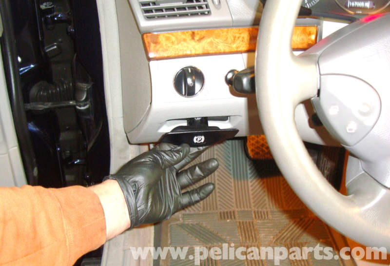 Mercedes Benz W211 Parking Brake Adjustment 2003 2009