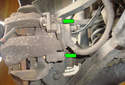ThisPicture illustrates the inside view of the right rear brake caliper.