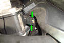 ThisPicture illustrates the left side of the engine compartment by the master cylinder.