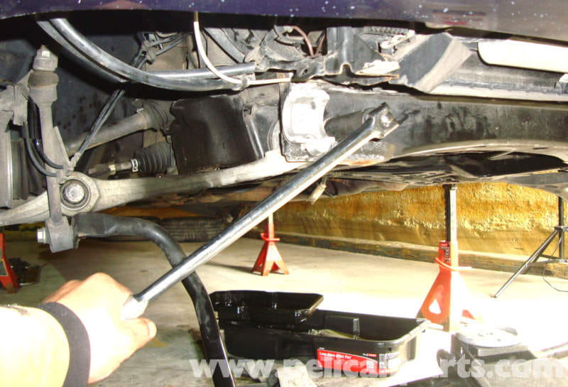Mercedes Benz W211 Front Lower Control Arm Replacement