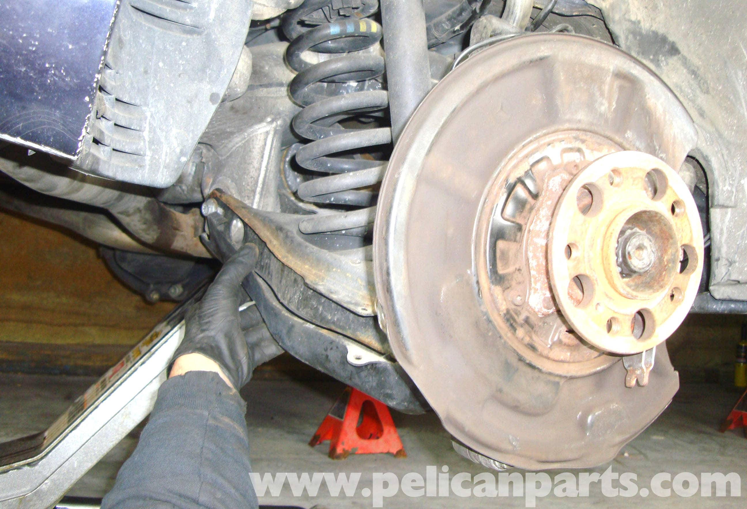 Mercedes Benz W211 Rear Lower Control Arm Replacement