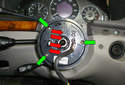 With the steering wheel off of the steering column be careful not to let the airbag clock spring rotate at all while you have the steering wheel off the car.