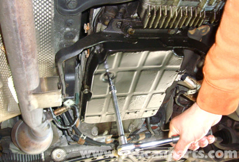Mercedes Benz W211 Automatic Transmission Fluid And Filter