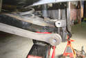 Continue the installation steps by installing the rear rearward lower link fasteners and tightening them down.