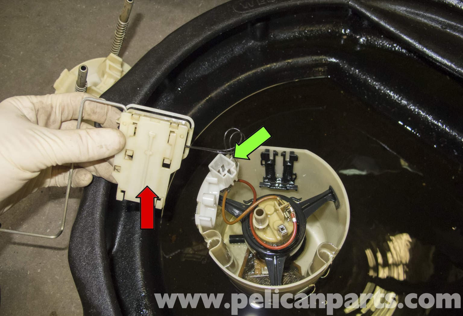 Mercedes benz w211 fuel pump replacement 2003 2009 e320 for Mercedes benz replacement parts for the interior