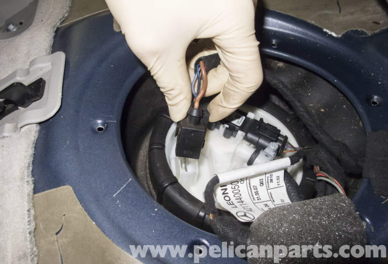 Mercedes Benz W211 Fuel Filter Replacement 2003 2009