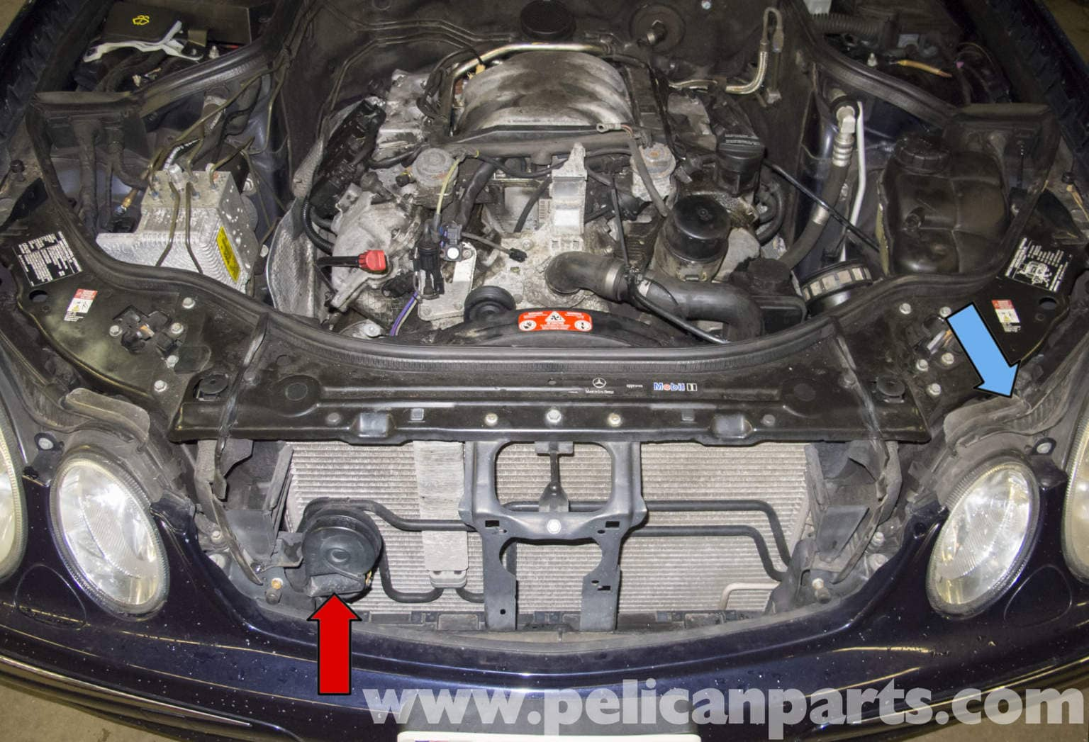 Mercedes-Benz W211 High and Low Tone Horns Replacement ...