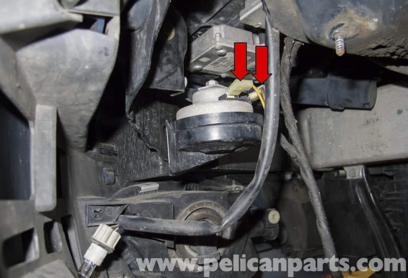 Mercedes Benz W211 High And Low Tone Horns Replacement