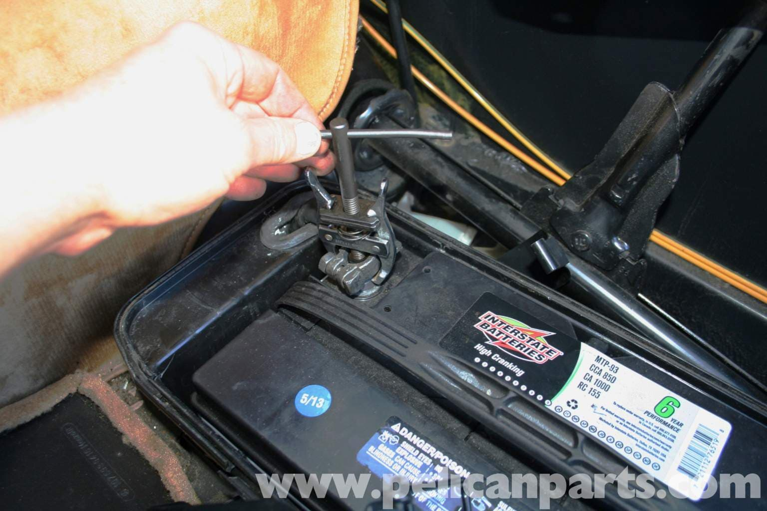 Mercedes benz r107 battery replacement 1972 1986 450sl for Mercedes benz battery warranty