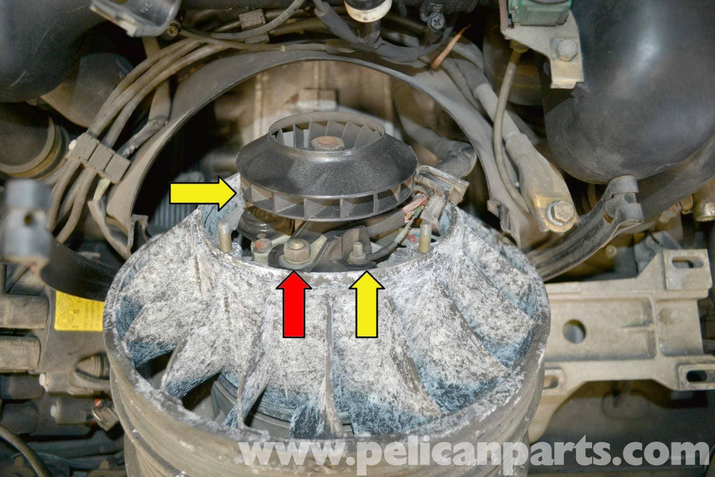 pelican technical article porsche 993 alternator replacement